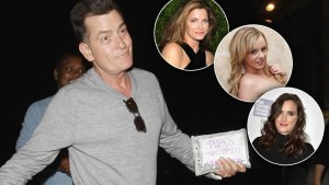 charlie sheen dating ex-girlfriends ex-lovers
