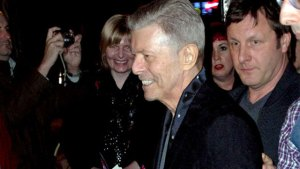 David Bowie Last Photo