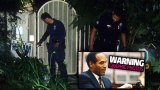 O.J. Simpson Crime Scene Photos F