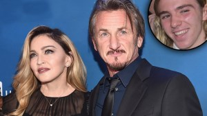 Sean Penn helps Madonna with son Rocco