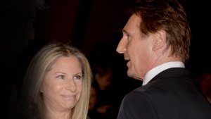 Liam Neeson Barbra Streisand Dating — She's Going To Set Him Up