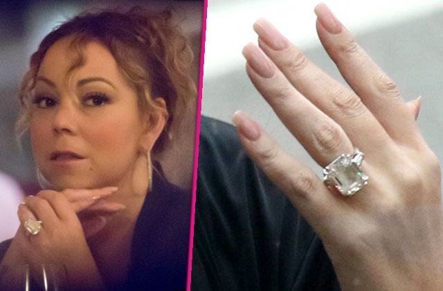 Mariah Carey Breasts Are Real But The 10 Million Ring Is Fake