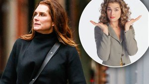 brooke shields without makeup now 2016 older