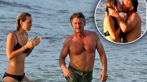sean penn dating younger woman leila george