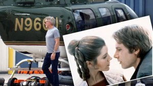 Harrison ford carrie fisher affair star wars kiss f