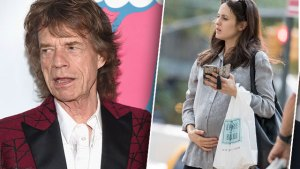mick jagger dad new father 73