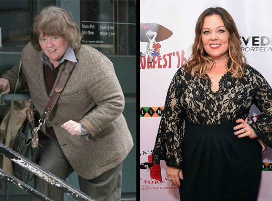 melissa mccarthy weight gain loss