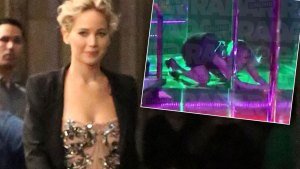 jennifer lawrence strip club video shirtless photos
