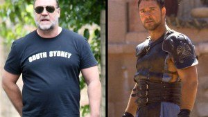 russell crowe fat weight gain