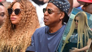 beyonce birth twins jay-z