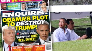 Donald trump barack obama feud F
