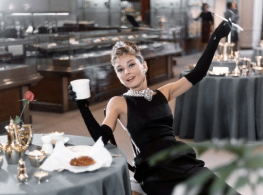 39 breakfast at tiffany 39 s 39 secrets of the audrey hepburn for Breakfast at tiffany s menu