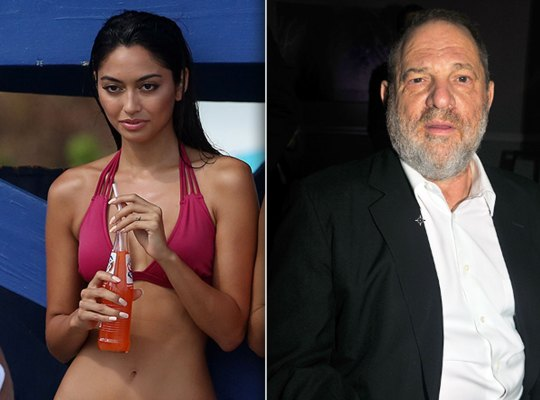 harvey weinstein sexual harassment model sting video