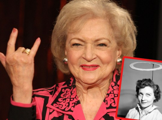 betty white dying bucket list