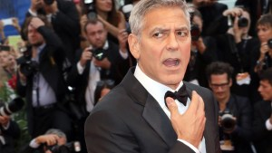 george clooney twins milk accident