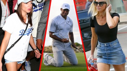 tiger woods sleazy new love triangle