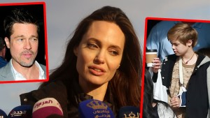 angelina brad shiloh jolie pitt injury