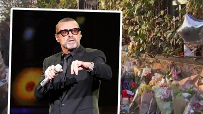 george michael grave unmarked scandal