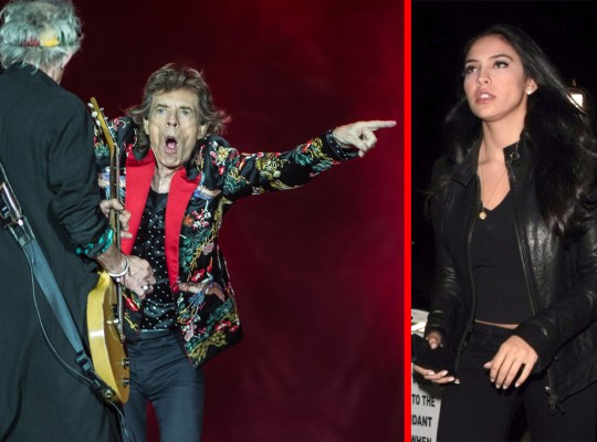 mick jagger girlfriend huge age difference