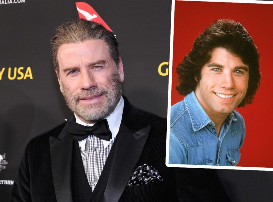 john travolta hair wig toupee