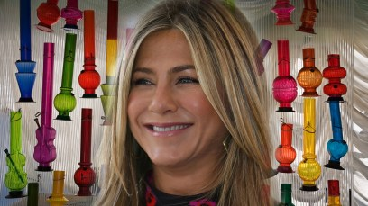 jennifer aniston justin theroux divorce pot