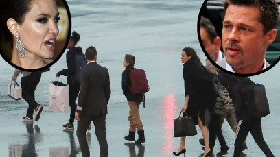 angelina jolie brad pitt child custody