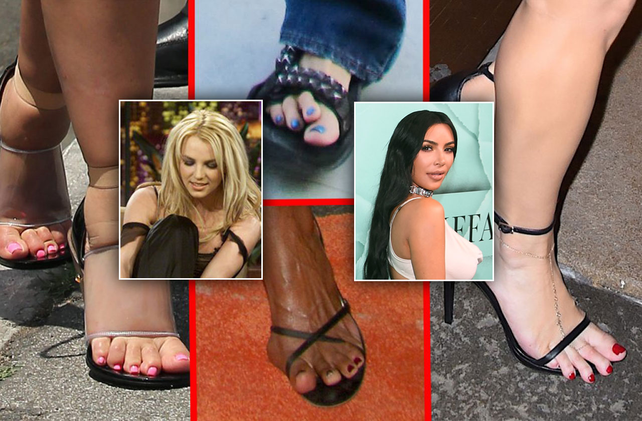 Celebrity feet fetish galleries