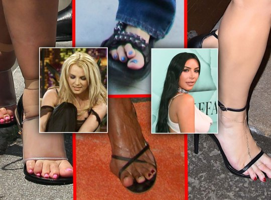 What celebrities have smelly feet - answers.com
