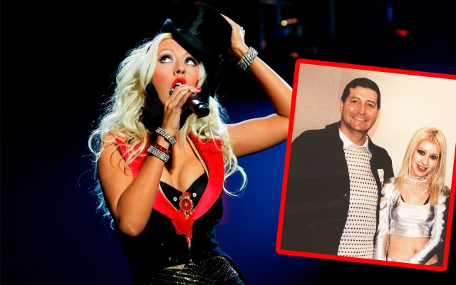 christina aguilera estranged father scandal
