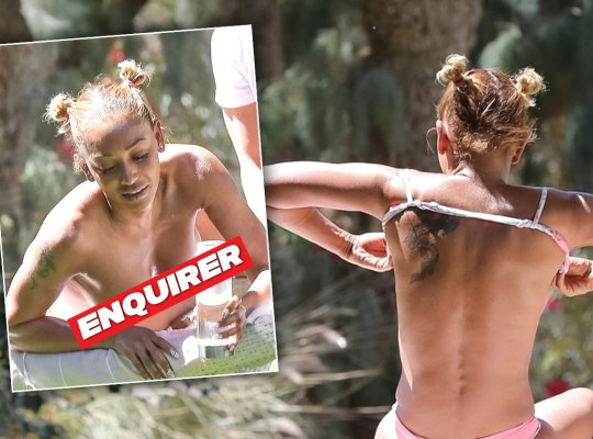 mel b nude topless divorce sex scandals
