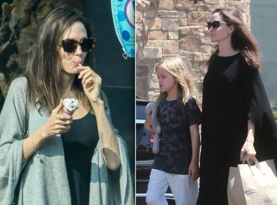 angelina jolie weight health scandals