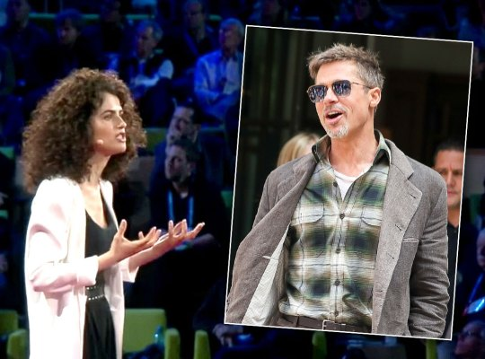 brad pitt dating professor neri oxman