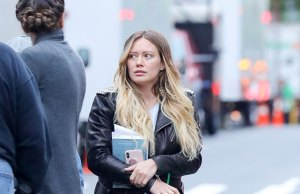hilary duff nyc
