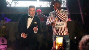 John travolta 50 cent video