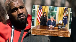 kanye west donald trump kim kardashian white house