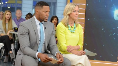 lara spencer gma feuds michael strahan claims
