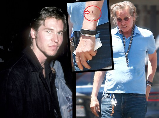 val kilmer  ailing star caught in new flesh