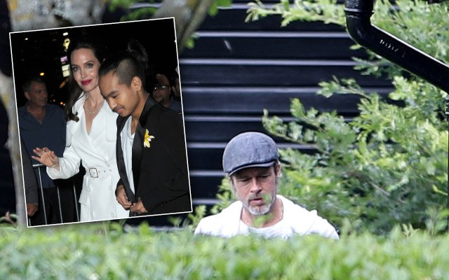 brad pitt angelina jolie custody battle