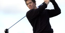 hugh grant anna ebberstein married golf