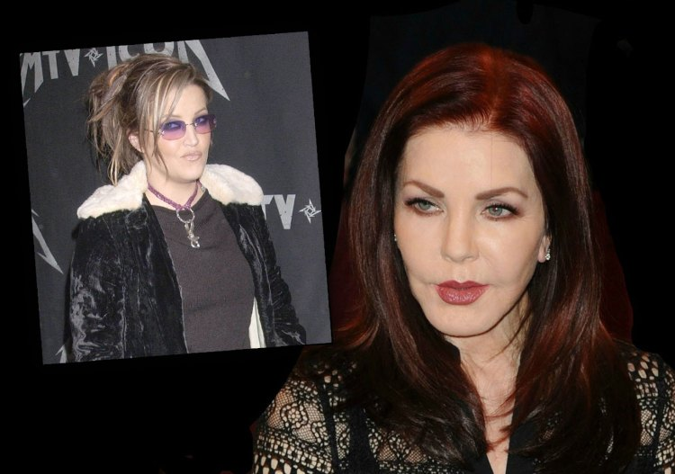 Priscilla Presley Cuts Off Broke Lisa Marie Presley Amid