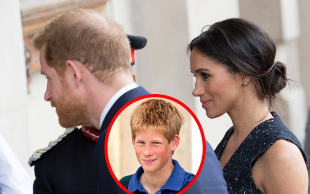 meghan markle prince harry hair
