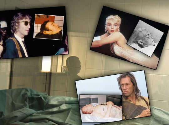 Celebrity Autopsy Photos — Secrets Of The Stars' Death Scenes!