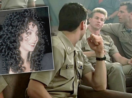 cher dating val kilmer tom cruise top gun scandals
