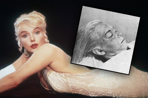 Marilyn monroe autopsy death photo 1
