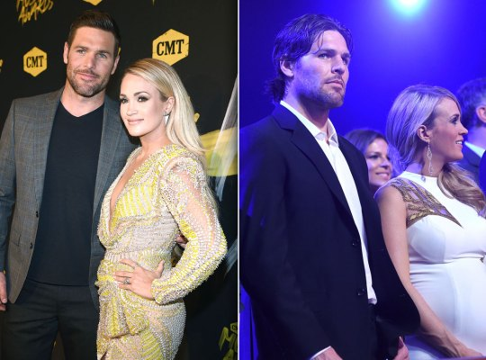 carrie underwood pregnant mike fisher scandals