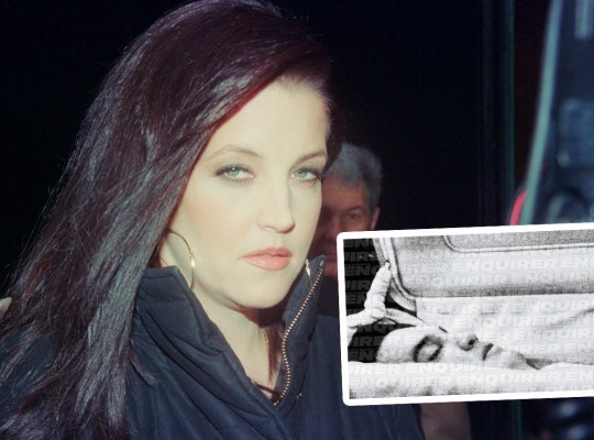 lisa marie presley elvis dead night