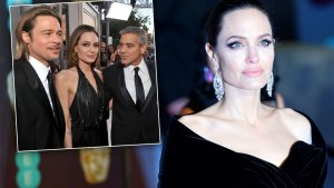 angelina jolie brad pitt divorce custody battle george clooney