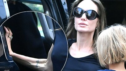 angelina jolie weight brad pitt divorce fears