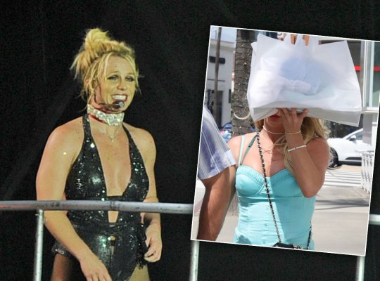 britney spears tour fans scandals