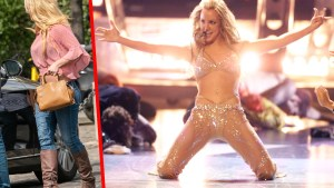 britney spears weight gain stress